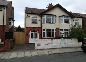 Thumbnail 4 bed semi-detached house to rent in Manor Road, Hoylake, Wirral