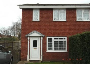 Thumbnail 2 bed semi-detached house to rent in Loughshaw, Wilnecote, Tamworth
