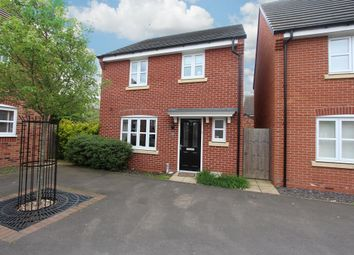 Thumbnail 3 bed detached house for sale in Teeswater Close, Long Lawford, Rugby