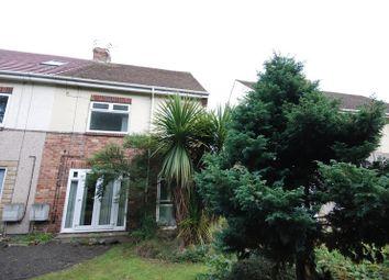 Thumbnail 4 bedroom semi-detached house for sale in Haydon Road, Ashington