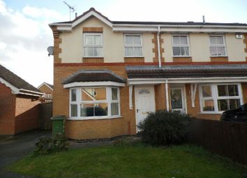 Thumbnail 3 bedroom semi-detached house to rent in Lancelot Close, Leicester Forest East, Leicester