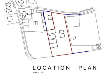 Thumbnail Land for sale in Houghtons Lane, Isleham, Ely
