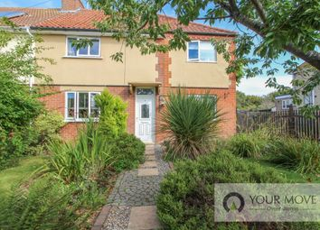Thumbnail 4 bed semi-detached house for sale in New Road, Barnby, Beccles