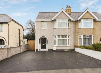 Thumbnail 3 bed semi-detached house for sale in Penrhos Road, Bangor