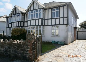 Thumbnail 5 bed detached house to rent in Hartley Park Gardens, Plymouth
