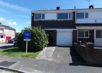 Thumbnail 3 bed end terrace house for sale in Lynfield Close, Connah's Quay, Deeside, Flintshire