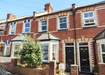 Thumbnail 3 bed terraced house to rent in Commins Road, Exeter