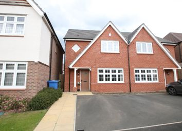 Thumbnail 3 bed semi-detached house for sale in Wensleydale, Wilnecote, Tamworth