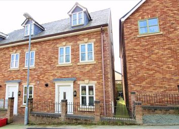 Thumbnail 3 bedroom terraced house for sale in 7, Ffordd Spoonley, Llansantffraid, Powys