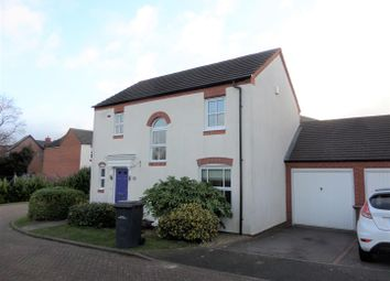 Thumbnail 3 bed detached house to rent in Sandfield Meadow, Lichfield
