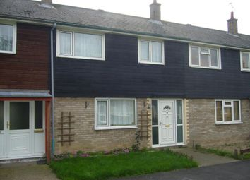 Thumbnail 3 bed terraced house for sale in Peterhouse Close, Mildenhall
