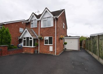 Thumbnail 3 bed detached house for sale in Westerby Drive, Werrington, Stoke-On-Trent
