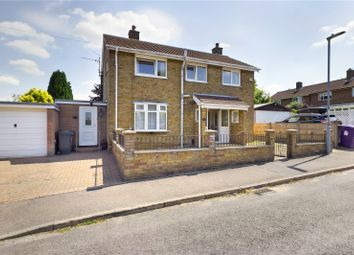 Thumbnail 3 bed detached house for sale in Newman Avenue, Royston, Herts