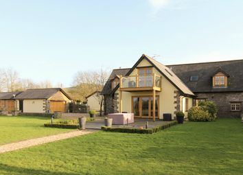 Thumbnail 4 bed barn conversion for sale in Llangeview, Usk
