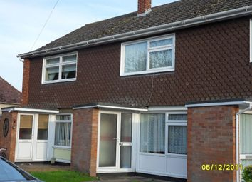 Thumbnail 2 bedroom terraced house to rent in Garden Close, Bungay, Suffolk