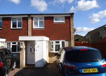 Thumbnail 3 bed end terrace house to rent in Holmcroft, Southgate, Crawley