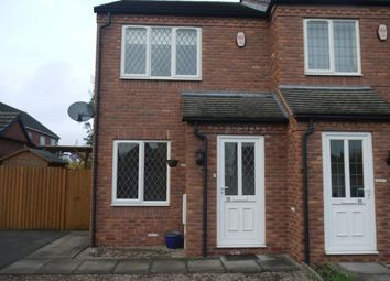 Thumbnail 2 bed semi-detached house to rent in Forest View, Overseal, Derbyshire