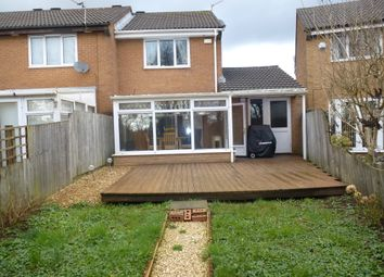 Thumbnail 2 bed end terrace house for sale in Tangmere Drive, Fairwater, Cardiff