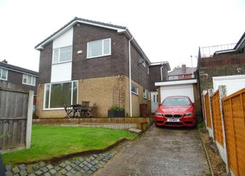 Thumbnail 4 bed detached house for sale in Edward Road, Shaw, Oldham