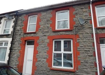 Thumbnail 3 bed terraced house to rent in Meadow Street, Llanhilleth, Abertillery