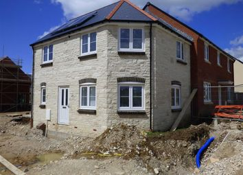 Thumbnail 3 bed end terrace house for sale in Curtis Way, Weymouth