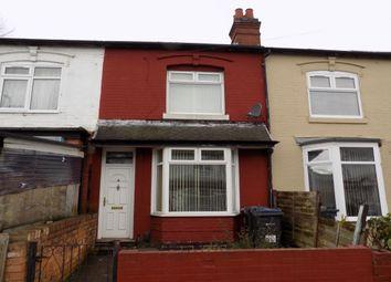Thumbnail 3 bed terraced house for sale in Sladefield Road, Alum Rock, Birmingham
