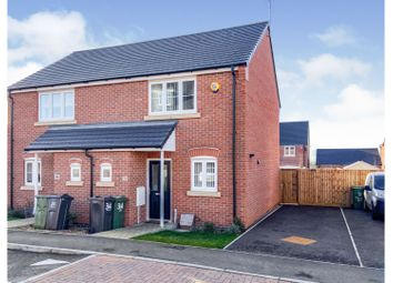 Thumbnail 2 bed semi-detached house for sale in Watermead Way, Birstall