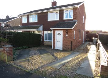 Thumbnail 3 bed semi-detached house for sale in Hillingford Way, Grantham
