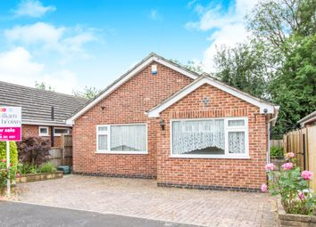Thumbnail 2 bed detached bungalow for sale in Alan Close, Leicester