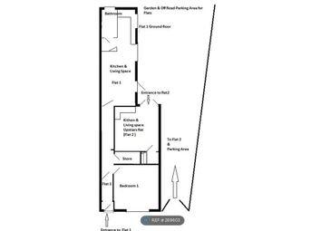 Thumbnail 1 bedroom flat to rent in Talbot Road, Wolverhampton