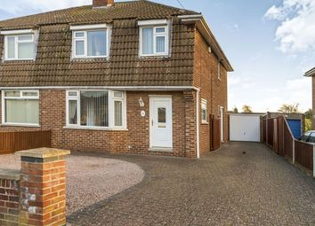 Thumbnail 3 bed semi-detached house for sale in Morpeth Road, Netherton, Peterborough