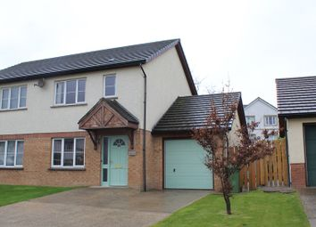 Thumbnail 3 bed semi-detached house for sale in Campion Crescent, Peel, Peel, Isle Of Man