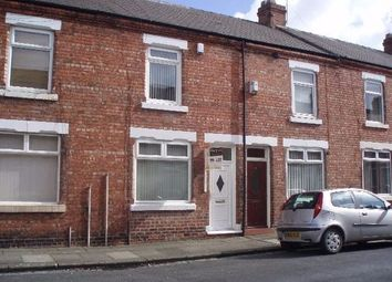 Thumbnail 2 bed terraced house to rent in Barningham Street, Darlington