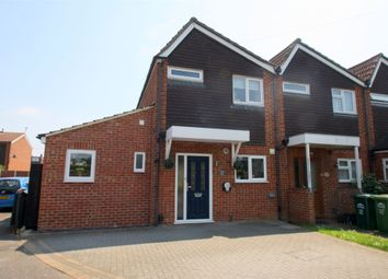 Thumbnail 3 bed end terrace house for sale in Orchard Avenue, Ashford, Surrey