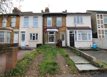 Thumbnail 2 bed terraced house to rent in Gillingham Road, Gillingham, Kent