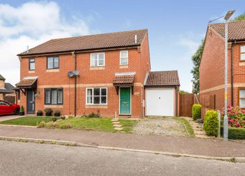 Thumbnail 3 bed semi-detached house for sale in Ash Tree Close, Attleborough