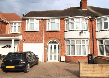 Thumbnail 5 bedroom semi-detached house for sale in Broadway Road, Leicester