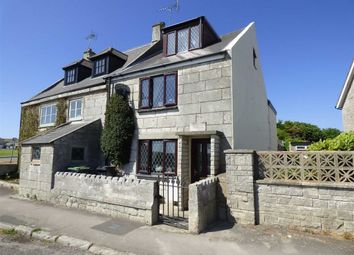 Thumbnail 3 bed cottage for sale in Weston Street, Portland, Dorset