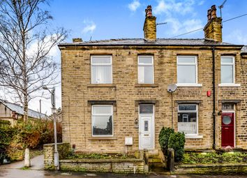 Thumbnail 2 bedroom end terrace house for sale in Mount Street, Cowlersley, Huddersfield