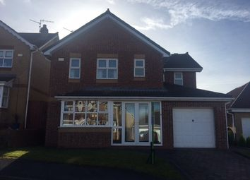 Thumbnail 4 bed detached house for sale in Troon Close, Consett