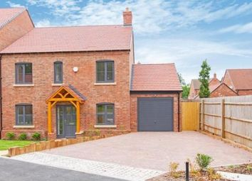 Thumbnail 4 bed detached house to rent in Saxon Close, Coalville
