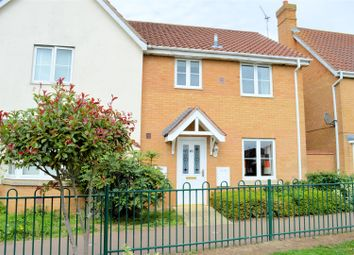 Thumbnail 3 bed semi-detached house for sale in Mason Gardens, West Winch, King's Lynn