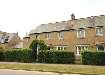 Thumbnail 5 bed terraced house for sale in Back Lane, Great Cambourne, Cambourne, Cambridge