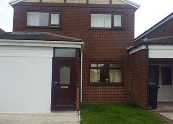Thumbnail 3 bed link-detached house to rent in Winchester Drive, Stockport