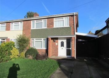 Thumbnail 3 bed semi-detached house to rent in Larksfield Crescent, Dovercourt, Essex