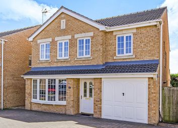 Thumbnail 4 bedroom detached house for sale in Baynes Court, Brayton, Selby