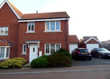 Thumbnail 4 bed semi-detached house to rent in Song Thrush Close, Stowmarket