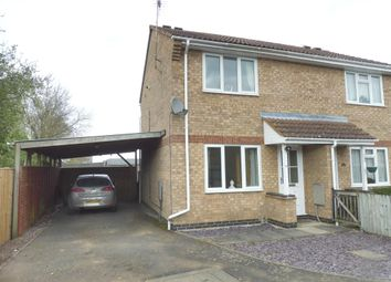 Thumbnail 2 bed semi-detached house to rent in Henry Warby Avenue, Elm, Wisbech