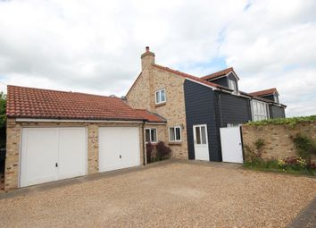 Thumbnail 5 bedroom detached house for sale in North Street, Wicken, Ely