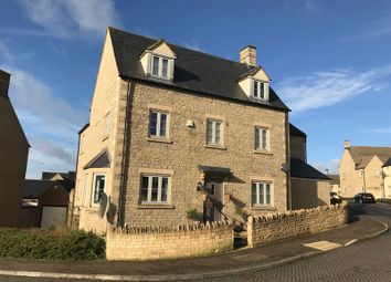 Thumbnail 5 bed semi-detached house for sale in Moss Way, Cirencester